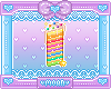 Rainbow Cake Badge
