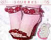 [S] Rose Glitter Heels