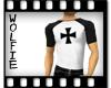 Iron Cross Raglan