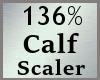 Scale Calves 136% M A