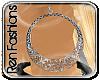 $R Elegant Silver Hoops