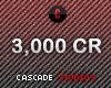 3,000 CR