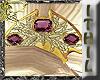 Gold/Amethyst Mantilla