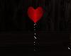 single heart balloon