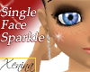 X Sparkle Mark & Lashes