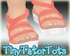 Summer Sandals Coral