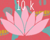 support sticker ; 10k