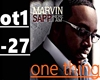 One Thing-Marvin Sapp