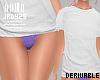 <J> Drv T-shirt + undies