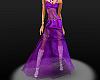 purple lace ball dress