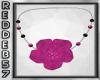 Fushia Sparkle Necklace