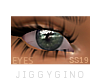 Unisex Eyes Darker Green