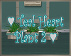 Teal Hearts Plant 2