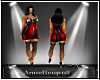BBW Night club dress Red