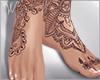 Perfect Naked Feet Tat