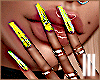 ♡ Jenner Nails Yellow