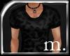 m.|Dark Leopard print