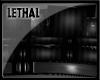 [LS] Dark Metal couch.