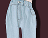 Light blue loose jeans