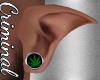 M| Elf Ears /Weed Plugs
