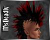 💀 Red Tip Mohawk