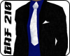 Black Suit w/blue&white