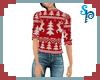 [S] Xmas Red Sweater