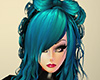 Kirsten Hair Blue
