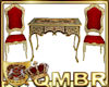 QMBR Baroque Desk Chairs