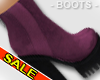Purple Platform Boot