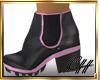 CH JaneBlk Pink Boots