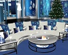 Blue Christmas Couch