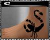 CcC scorpion tattoo