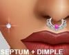 Dimple Nose Piercing