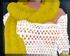 Yellow Scarf & Glove