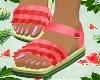 Watermellon Sandals