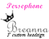 BreannaRios Custom name