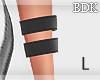 (BDK)Black bracelet L