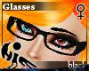 [Hie] Black glasses