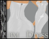 Leather White Dress BM