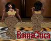 [bp] Khaki Cheetah Pants