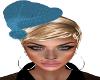 Xmas-Teal Hat