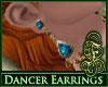 Dancer Earrings Topaz