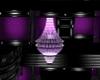 Opera Purple Chandelier