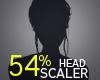 Head Scaler 54%