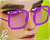 Violet Jelly Glasses