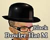 Bowler Hat M Black