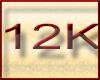 ! 12K Support Sticker
