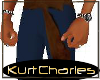 [KC]BLUE AMOUR PANTS