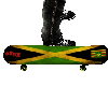 Animated Rasta Skatebord